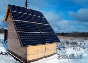 Солнечные батареи своими руками для частного 72