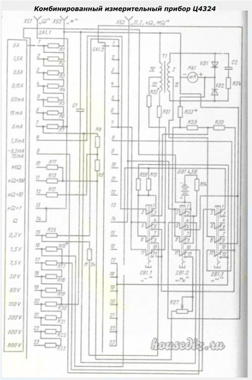 схема Ц4324