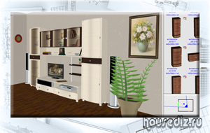 Программа 3D дизайна от производителя мебели