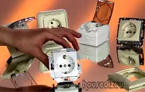 Как выбрать электрическую розетку для домашней проводки