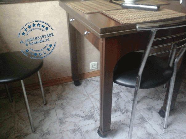 Обеденный столик на колесах
