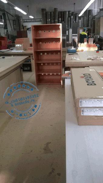 Шкаф с вентиляцией в подсобку