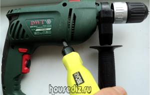 Как разобрать электрическую дрель DWT для внутреннего осмотра