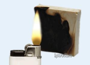 Стойкость пенопласта к открытому огню