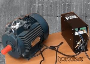 Частотнный преобразователь для асинхронного двигателя
