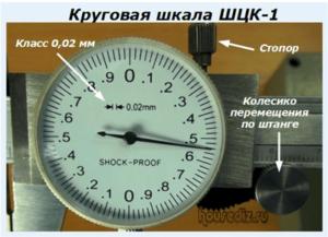 Круговая шкала ШЦК-1