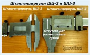 Штангенциркули ШЦ-2 и ШЦ-3