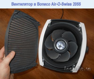 Вентилятор в Boneco Air-O-Swiss 2055
