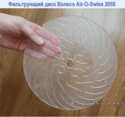 Фильтрующий диск Boneco Air-O-Swiss 2055