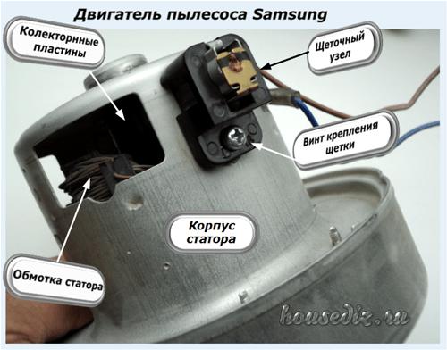 Ремонт двигателей пылесосов ремонт телефона - проводной линии