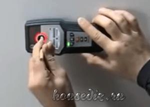 Детектор проводки скрытой
