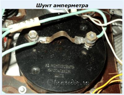 Шунт амперметра