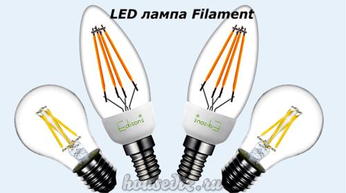 LED лампа Filament