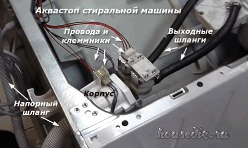 Аквастоп стиральной машины
