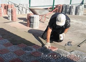 Как в домашних условиях сделать тротуарную плитку