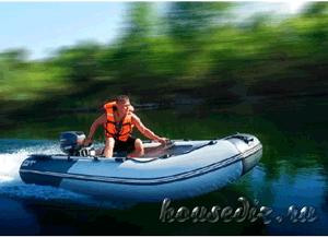 Лодка пвх с надувным дном высокого давления