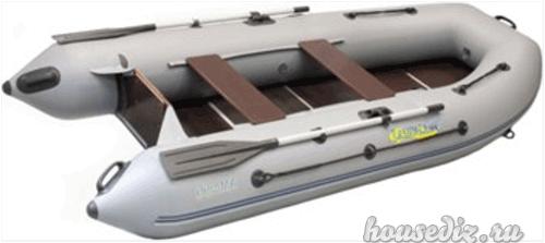 Лодка с жёстким пайолом